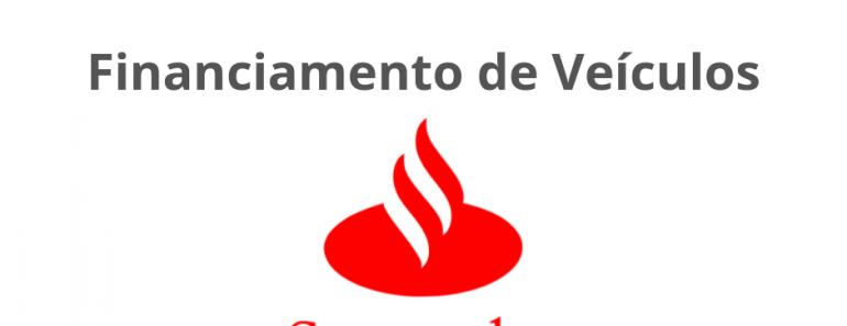 Financiamento de Veículos Santander - Saiba Como Simular