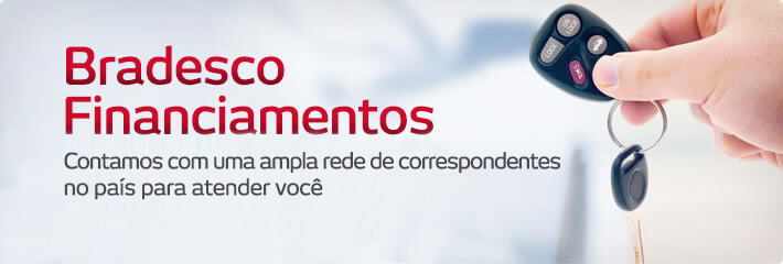 Financiamento de Veículos Bradesco Online