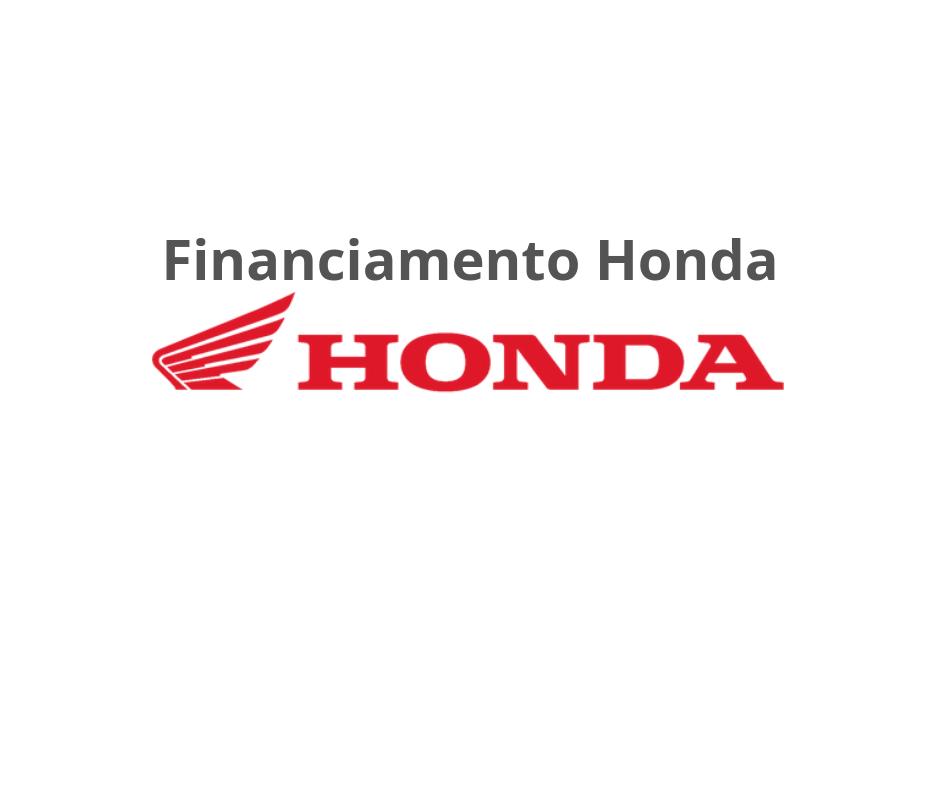 Financiamento Moto Honda