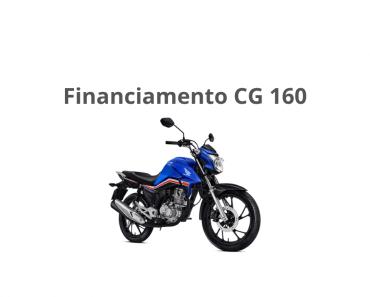 Honda CG 160 - Saiba Simular Parcelas