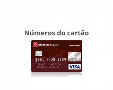 Números do cartão de crédito - O que são?