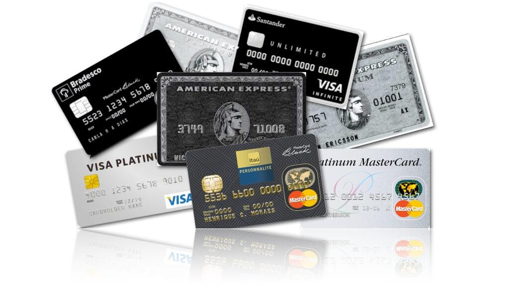 Taxas que os bancos cobram no cartão de crédito