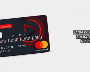 Cartão Santander Play - Como Solicitar Online