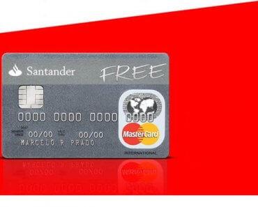 Como solicitar Cartão Santander Free