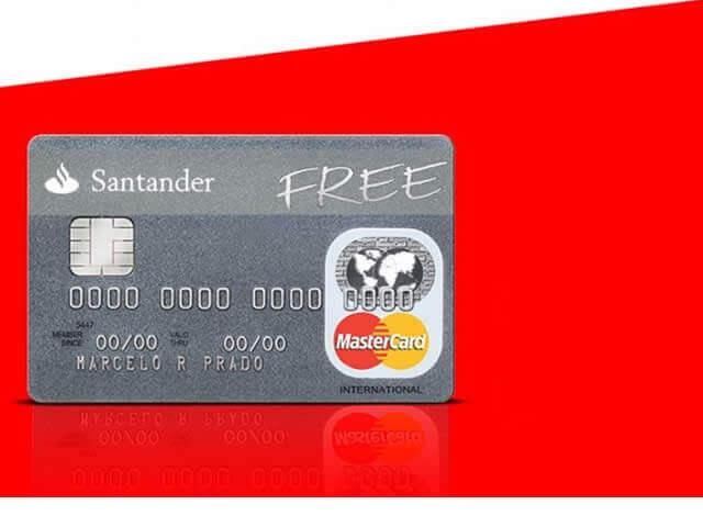 Cartão Santander Free - Como Solicitar Online