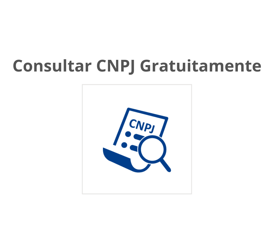 Consultar CNPJ gratuitamente