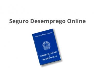 Seguro desemprego Online
