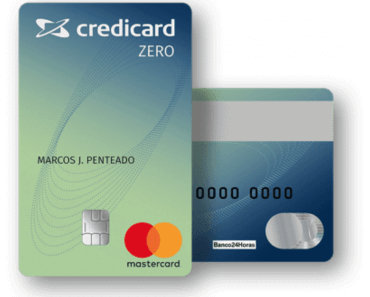 Cartão Credicard ZERO - Como Solicitar