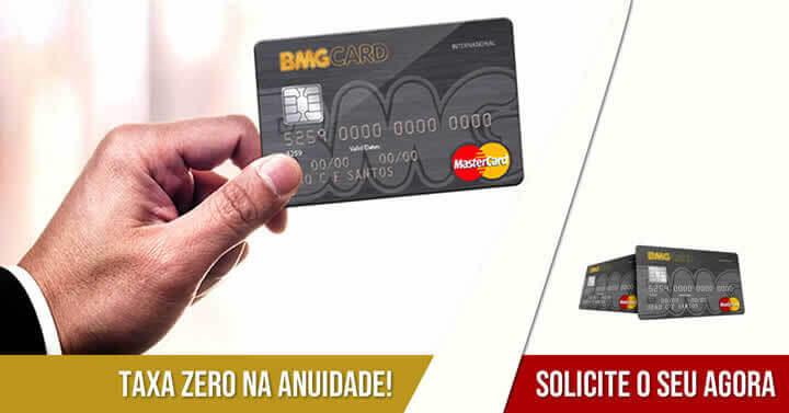 Cartão de Crédito BMG Card - Como Solicitar