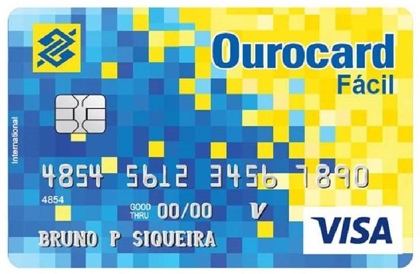 Cartão Ourocard Fácil