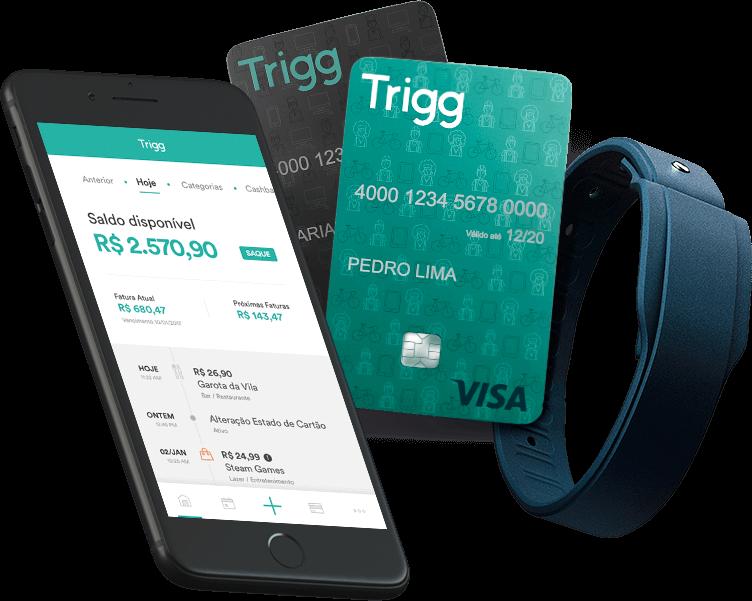 Conheça o Trigg: cartão de crédito que devolve parte dos seus gastos