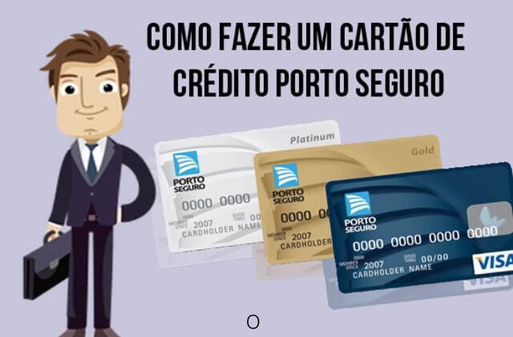 Cartão de crédito Porto Seguro, entenda como solicitar